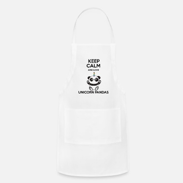 Keep Calm Awesome Cute Unicorn Lover Quotes - Apron