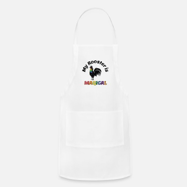 Communism Gay Pride Parade Magical Rooster Funny LGBTQ - Apron