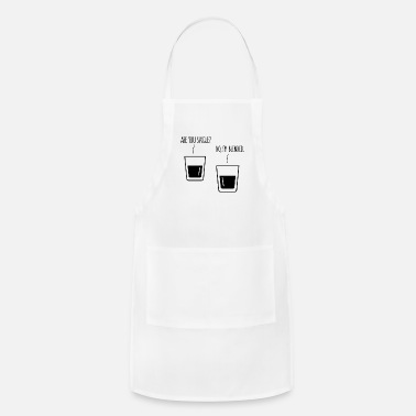 Whiskey WHISKY SINGLE BLENDED QUOTE FUNNY GIFT WHISKEY FUN - Apron