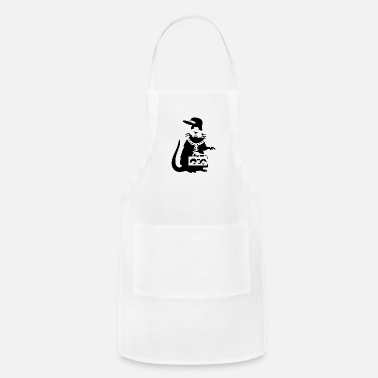 Banksy Gangster Rat Rapper Banksy Gangster Rat Rapper - Apron