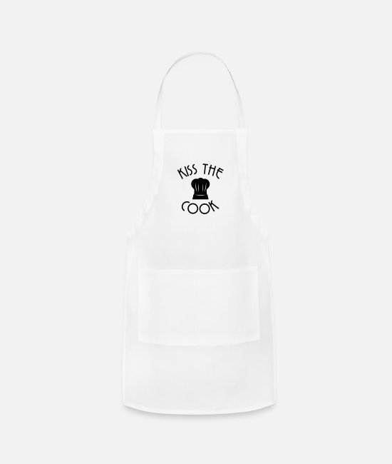 BBQ Aprons - Cook - Apron white