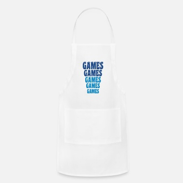 Game Games Games Games - Adjustable Apron