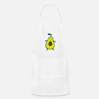 Food Avocado Male - Adjustable Apron