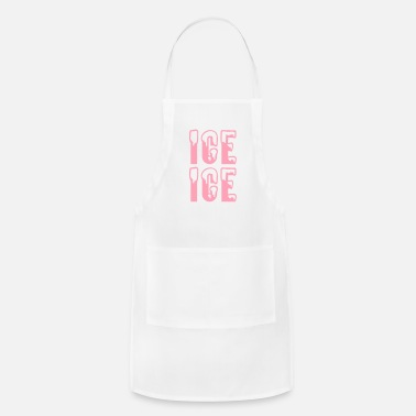 Ice Ice Ice - Adjustable Apron