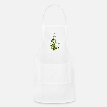 Curlicue Abstract Flora - Apron