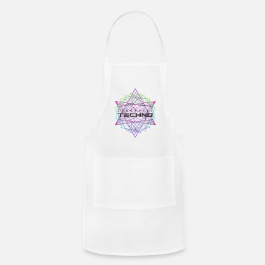 Hardstyle Essential Techno House Electronic Music Party EDM - Adjustable Apron
