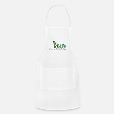 Cactus Looking Sharp Thorny Beautiful Cactus 1 - Adjustable Apron