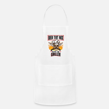Beer He won't do anything, he just wants a barbecue - Apron