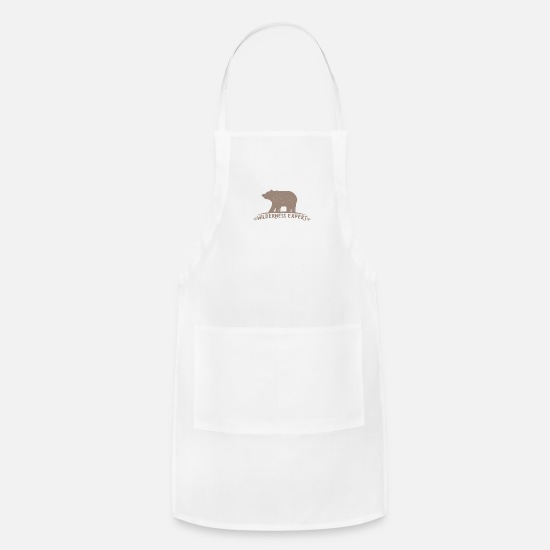 Wilderness Aprons - Wilderness Expert - Apron white