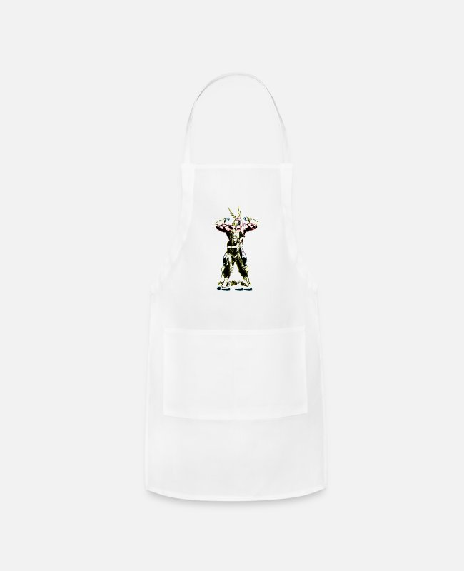 Training Aprons - All Might - Apron white