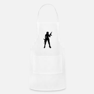 Uzi Uzi girl - Adjustable Apron