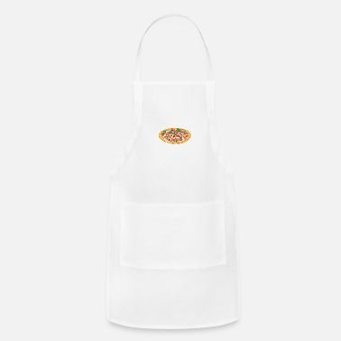Oven Retro Vintage Grunge Style Pizza - Adjustable Apron