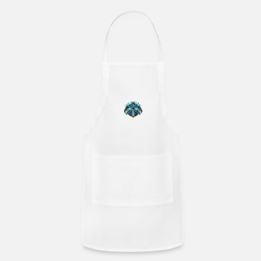 Two Animal Sword Fishing - Apron