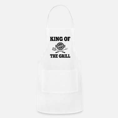 Father's Day King Of the Grill - Apron