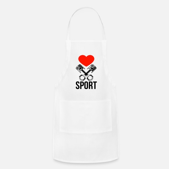 Motorcycle Aprons - motorsports - Apron white
