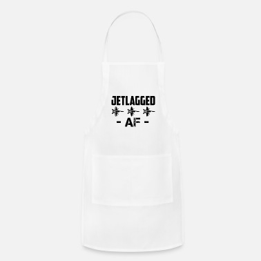 Flying Jet Lag AF Jet Fighter Pilot Air Force Aviator - Apron