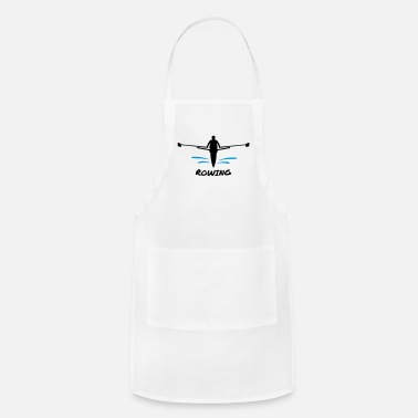 Water Rowing, Rower & water - Apron