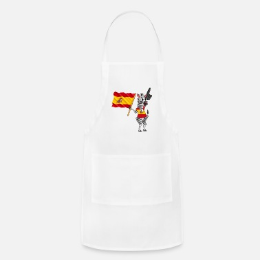 Spanish A Spanish Zebra - Adjustable Apron