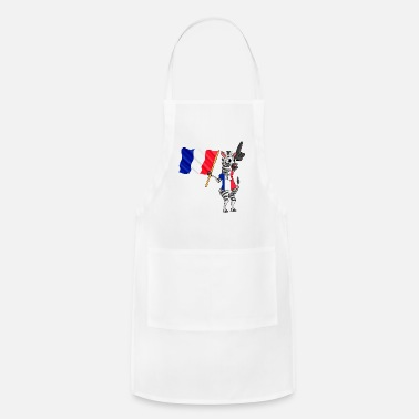 French Flag A French Zebra - Adjustable Apron