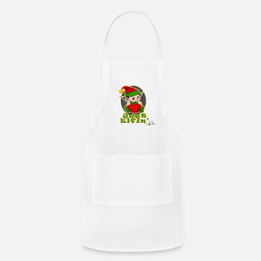 Jeff Johnson Christmas Elfin by Jeff Johnson Designs - Apron