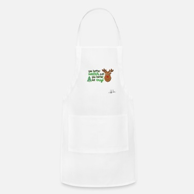 Jeff Johnson Rudolf by Jeff Johnson Designs - Apron