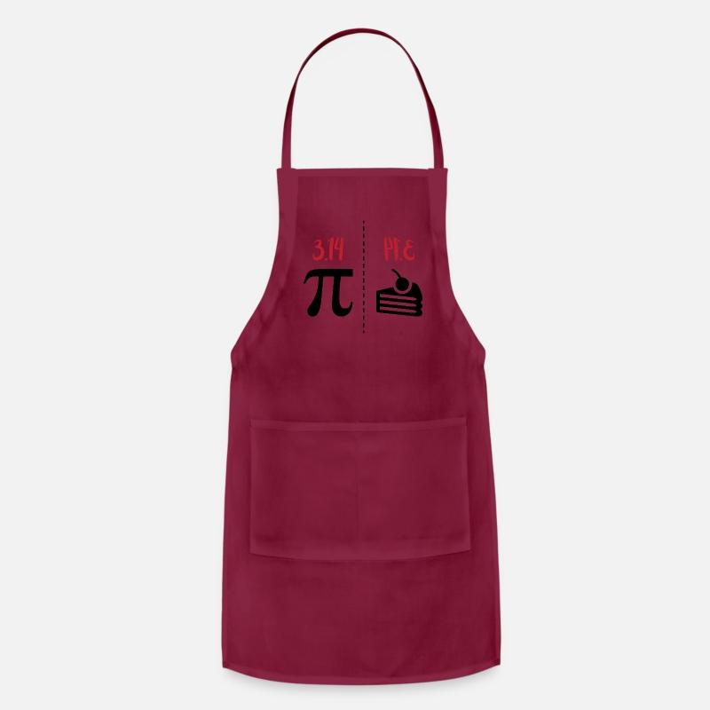 Pi Math Geek Nerd 3.14 Apron with Pockets