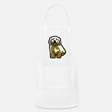 Golden Retriever Golden Retriever Puppy - Apron