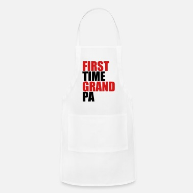 First Time The first Grandpa times first time baby - Apron