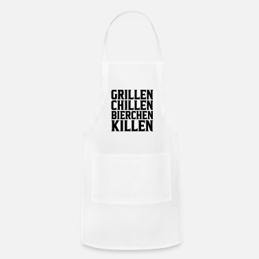 Master Grilling chilling beer killing grillmeister bbq - Apron