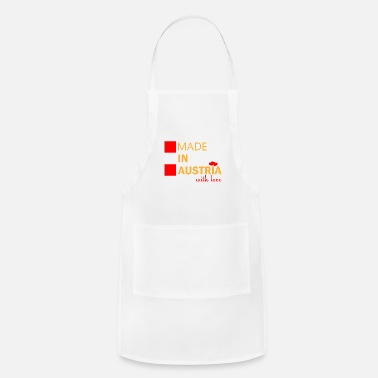 Clear Made in Austria with love gift Austria - Apron