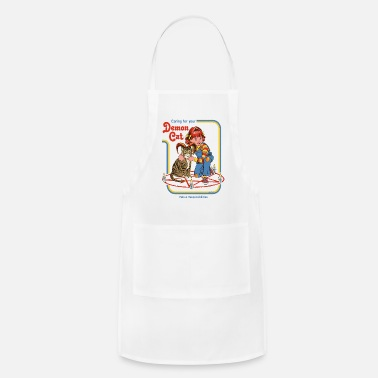 Smiffys caring for your demon cat - Apron