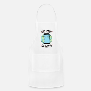Travel Let's travel the world - Apron