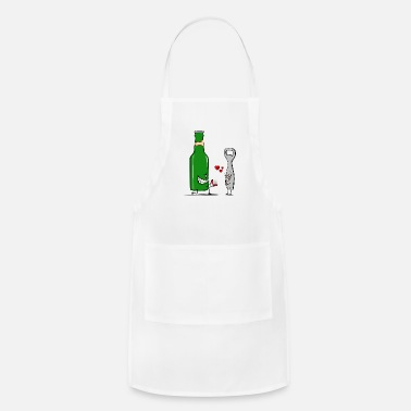 Valentine's Day Beer Love - Apron