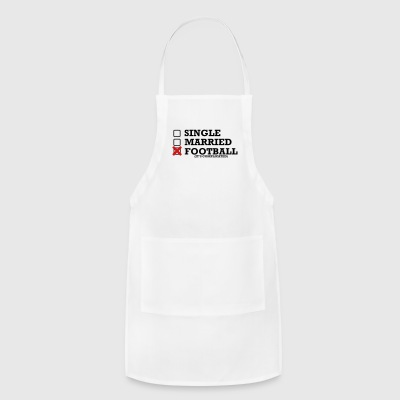 Single - Married - Football - Adjustable Apron