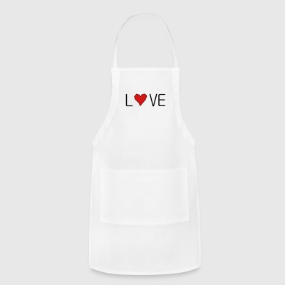 he_art_love - Adjustable Apron