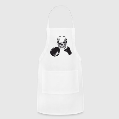 Boxing Skull Gloves Fight Fighter Boxer Punch - Adjustable Apron