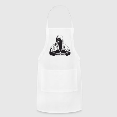 Boxing Sports Fight Boxer Athletic Training Punch - Adjustable Apron
