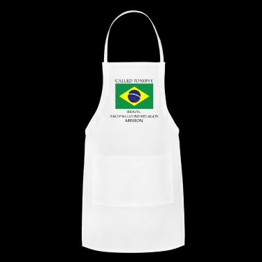 Brazil Sao Paulo Interlagos LDS Mission Called - Adjustable Apron