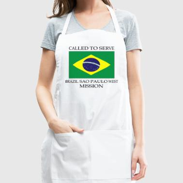 Brazil Sao Paulo West Mission LDS Mission Called - Adjustable Apron