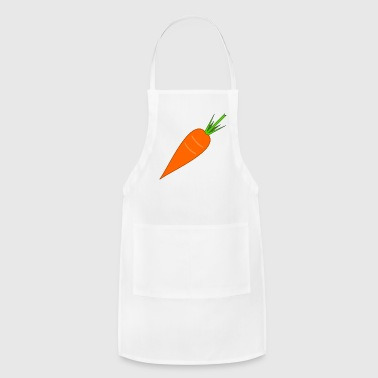 carrot karotte moehre ruebe veggie vegetable - Adjustable Apron