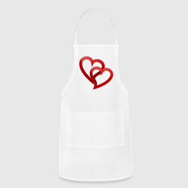 New valentines day t shirt designs 2018 - Adjustable Apron