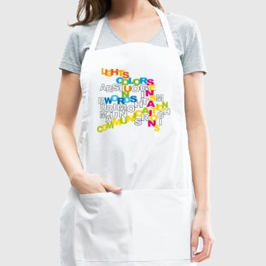 word communication - Adjustable Apron