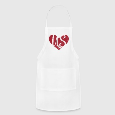 Us, love is us - Adjustable Apron