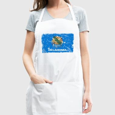 Oklahoma Vintage Flag - Adjustable Apron