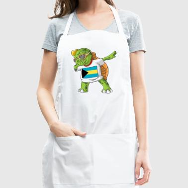 Bahamas Dabbing Turtle - Adjustable Apron