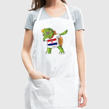 Croatia Dabbing Turtle - Adjustable Apron