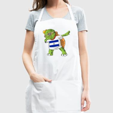 El Salvador Dabbing Turtle - Adjustable Apron