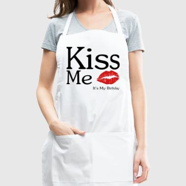 KISS ME - It's My Birthday - Adjustable Apron