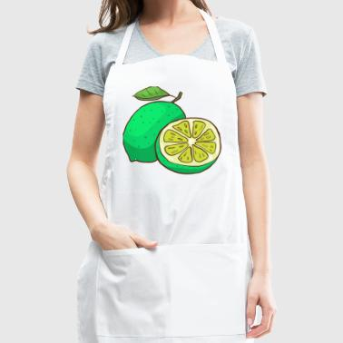 Green Lime Citrus - Adjustable Apron