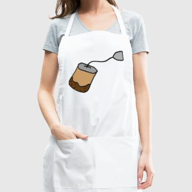 teabag , earl grey tea , gift idea - Adjustable Apron